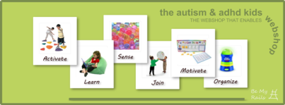 Autism and ADHD Web Shop for Children